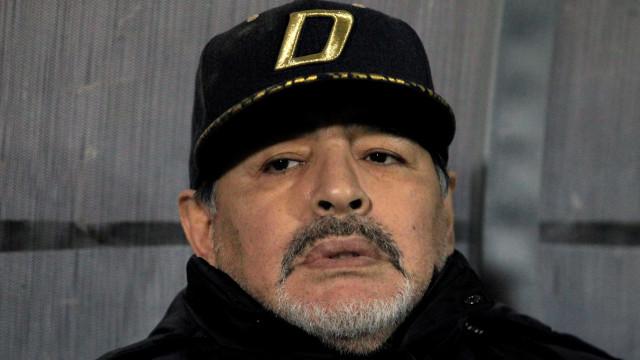 Maradona justifica saída do Dorados: 'Médicos pediram para eu parar'
