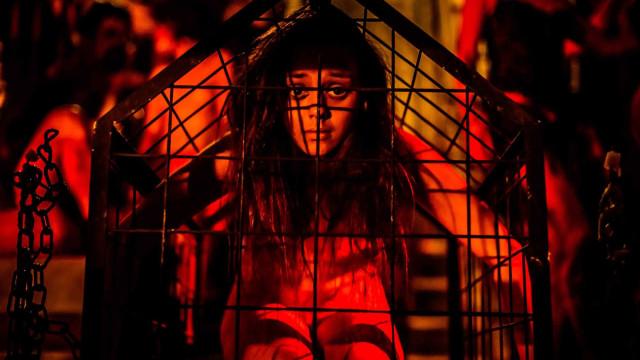 Satyros comemoram um ano de filme em cartaz com performance no cinema