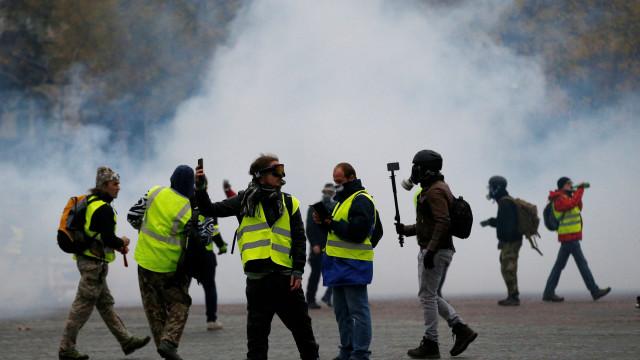 Coletes amarelos viram motivo de briga entre Itália e França