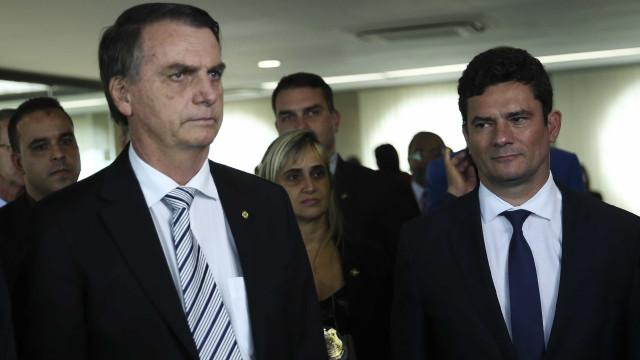 Moro diz que Bolsonaro quis 'fortalecê-lo' com declaração sobre STF