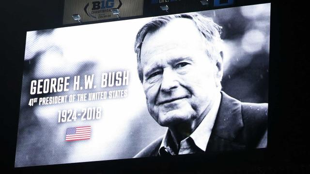 Ex-presidente George H. W. Bush começa a ser velado hoje