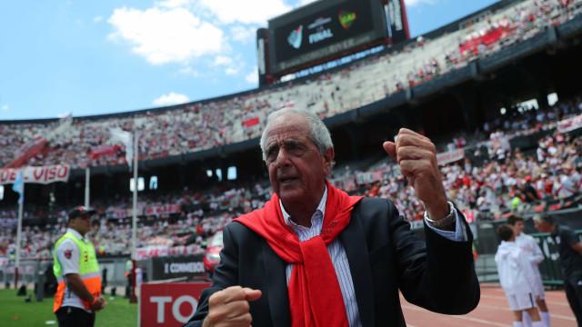 Presidente do River espera que final seja '11 de setembro argentino'