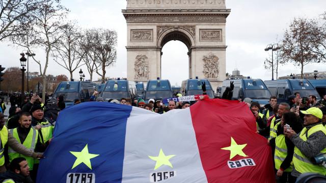 França se prepara para novo protesto dos 'coletes amarelos'