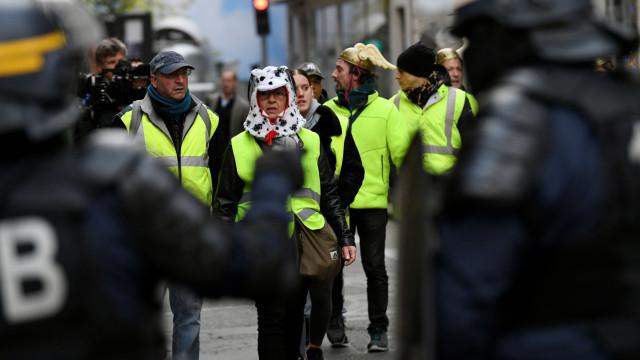 Coletes amarelos: atos em Portugal colocam polícia em alerta