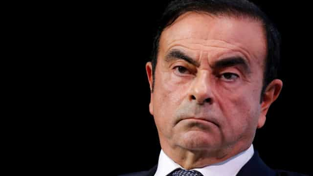 Ghosn renuncia como executivo-chefe e presidente da Renault