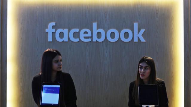 Facebook recolheu dados de e-mail de 1,5 milhões de utilizadores