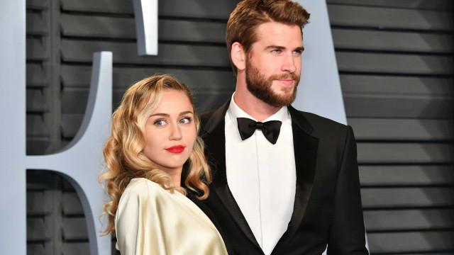 """Liam pede divórcio de Miley Cyrus: """"Diferenças irreconciliáveis"""""""
