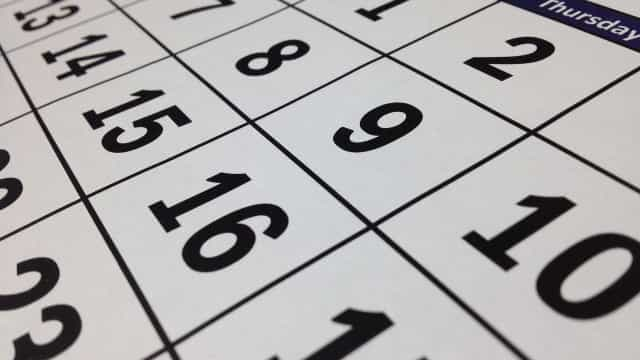 Governo publica lista de feriados e pontos facultativos em 2019; veja