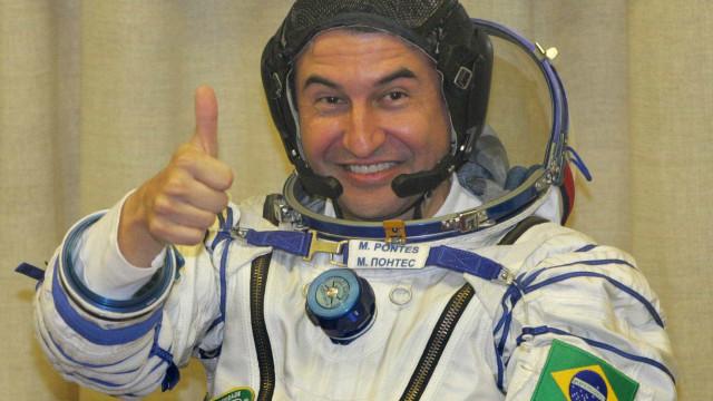 Marcos Pontes dá dicas de como se tornar um astronauta