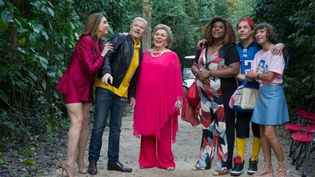 'Sai de Baixo - o Filme' tem piadas de Magda e Ribamar com ação
