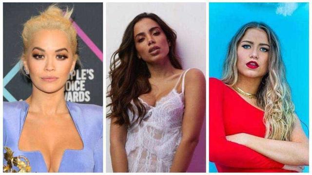 Anitta grava música e clipe com Rita Ora e Sofía Reyes em Los Angeles