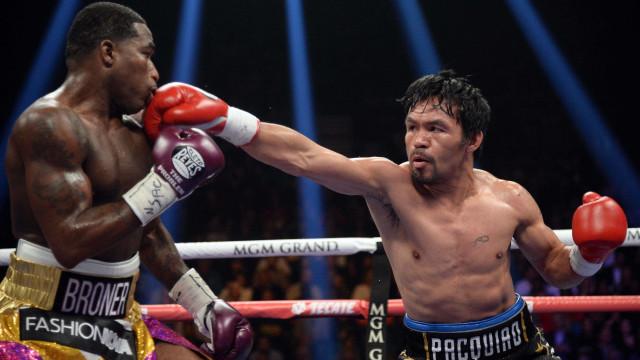Manny Pacquiao mantém título e desafia Mayweather para uma luta