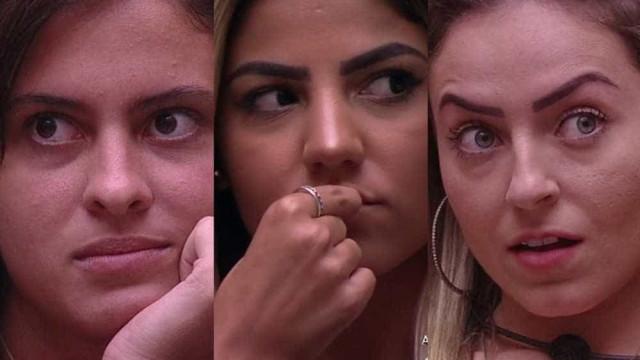 Hana, Hariany e Paula serão isoladas no Quarto 7 Desafios do BBB