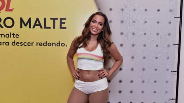 Anitta diz que perdeu 4 kg em menos de 1 mês, desde que virou vegana