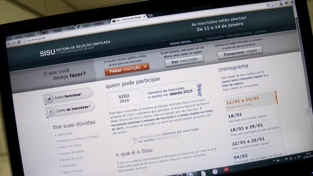 Falha no Sisu permite que estudantes acessem conta de outros candidatos