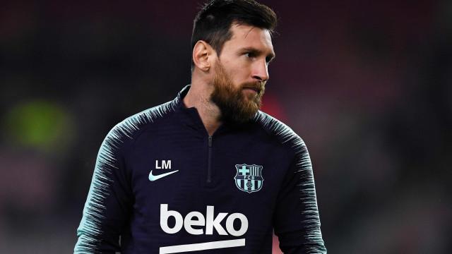 Coronavírus: jogadores do Barcelona serão examinados na Itália