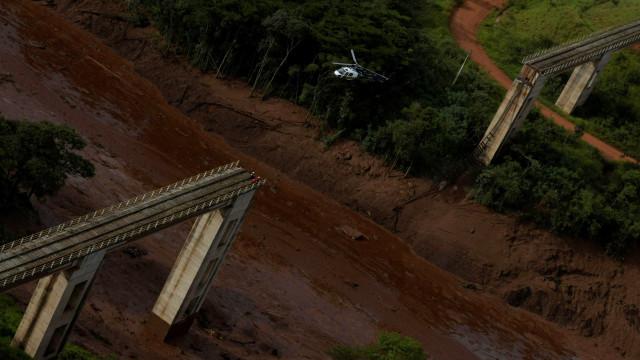 Veja fotos da tragédia ambiental em Brumadinho, em MG