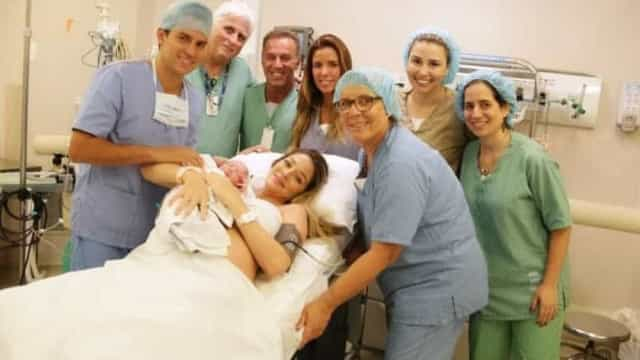 Luma Costa posta fotos do nascimento do seu 2º filho, Eduardo