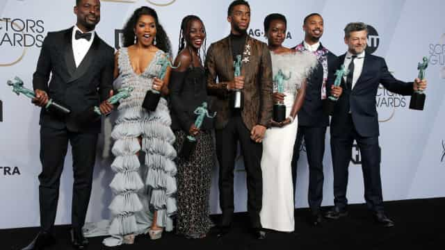 Glenn Close, Rami Malek e 'Pantera Negra' levam prêmio SAG
