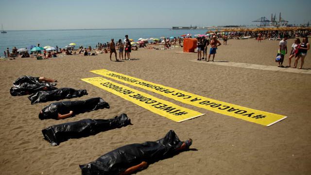 Cresce taxa de mortalidade no Mediterrâneo, diz Acnur
