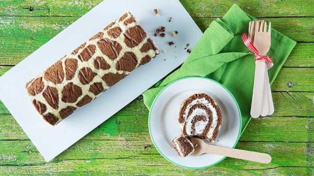 Como fazer uma 'torta-girafa' fácil e divertida? Confira aqui