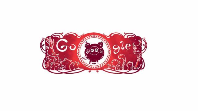 Google dá boas-vindas ao Ano do Porco