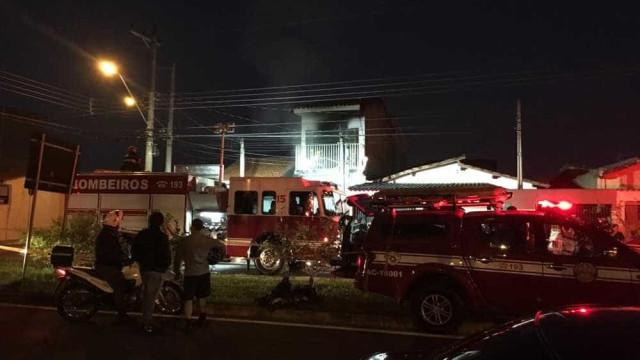 Pai e filho especial morrem durante incêndio em casa em Sorocaba