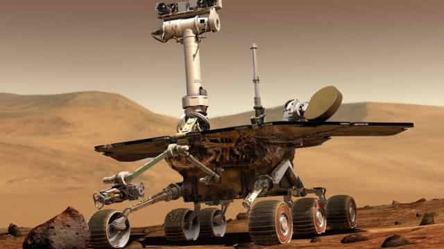 Nasa está pronta para dizer adeus ao robô Opportunity em Marte