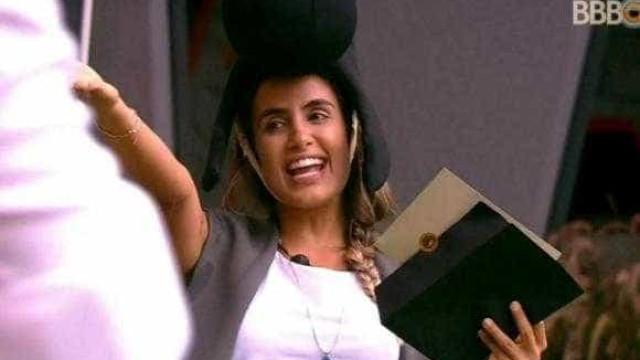 Carolina conquista a prova do Anjo do 'BBB 19'