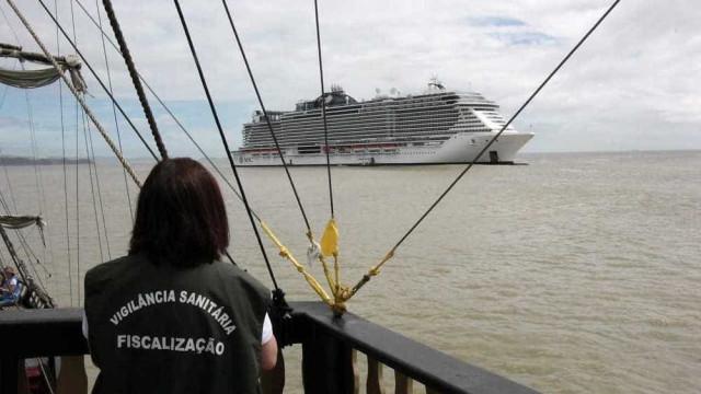 Após confirmação de sarampo em navio, 9 mil passageiros são vacinados
