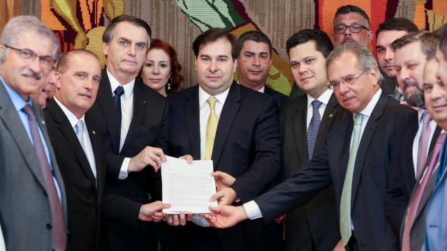 Líderes da maioria na Câmara anunciam veto a trechos da PEC da reforma