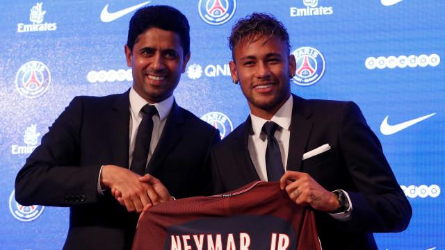 'Real Madrid sabe que o Neymar não está à venda', diz presidente do PSG