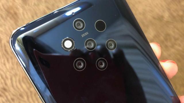 Novo Nokia PureView terá cinco câmeras traseiras