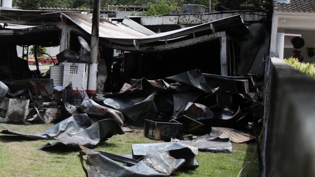 Justiça mantém ação contra 8 acusados de incêndio no Ninho do Urubu