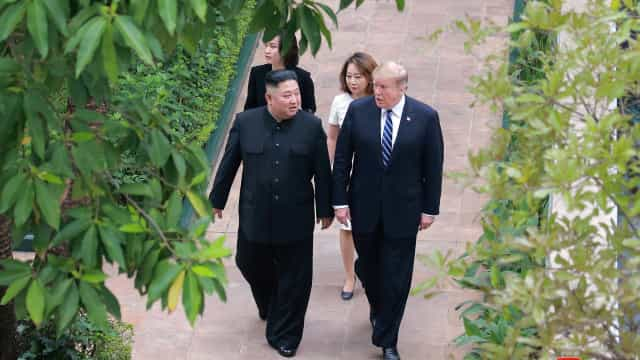 Em nota, Casa Branca diz que reunião de Trump e Kim foi proveitosa