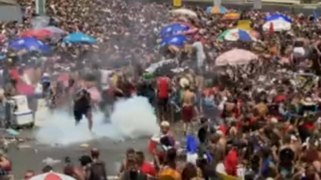 Tumulto em bloco leva mais de 200 pessoas aos postos de saúde