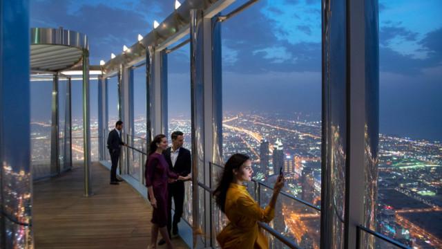 Dubai abre lounge mais alto do mundo, a 545 metros do chão