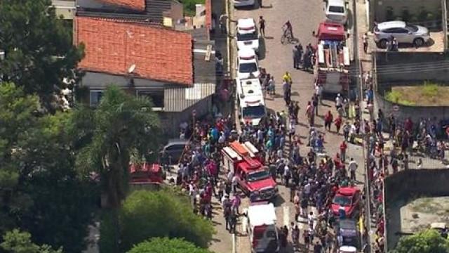 Doria cancela agenda e acompanha resgate de estudantes de Suzano