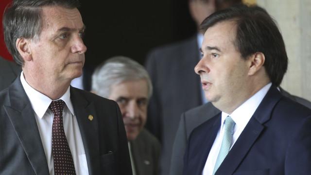Maia se reuniu com Bolsonaro após criticar mudanças no Simples Nacional