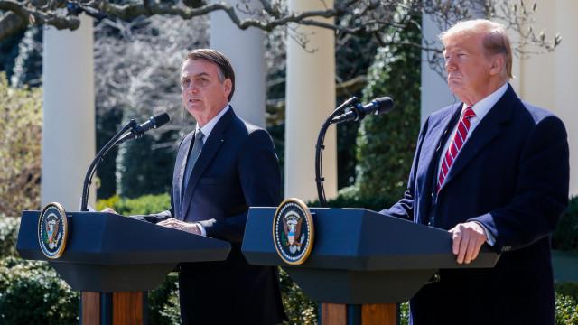 EUA realçam parceria com Brasil antes da visita de Bolsonaro