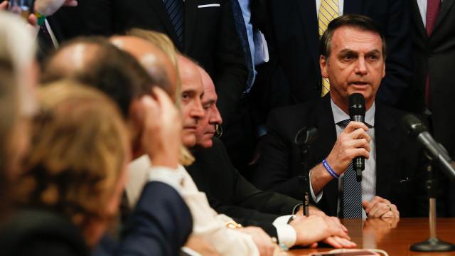Bolsonaro avalia participação em protesto favorável ao seu governo