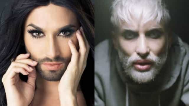 Conchita Wurst, cantora drag queen de barba, surpreende com novo visual