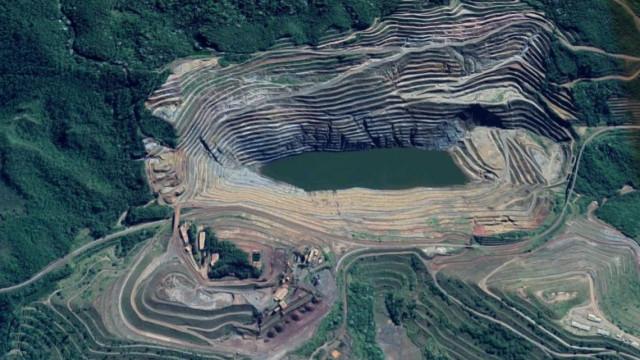 Movimentação de talude de mina em Barão de Cocais chega a 56 cm por dia