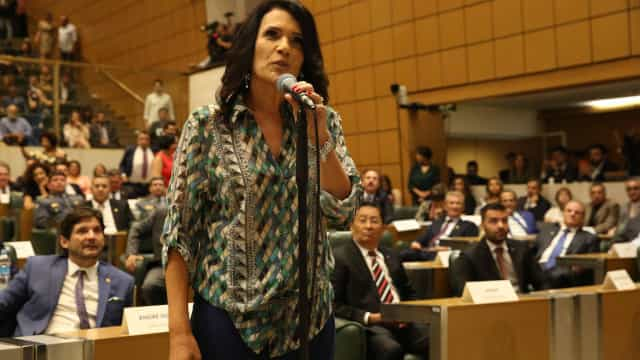 Valéria Bolsonaro, a parente distante do presidente na Assembleia de SP