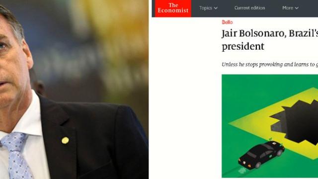 'The Economist' faz duras críticas a Bolsonaro
