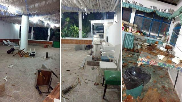 Terreiro de candomblé é invadido e destruído em Nova Iguaçu