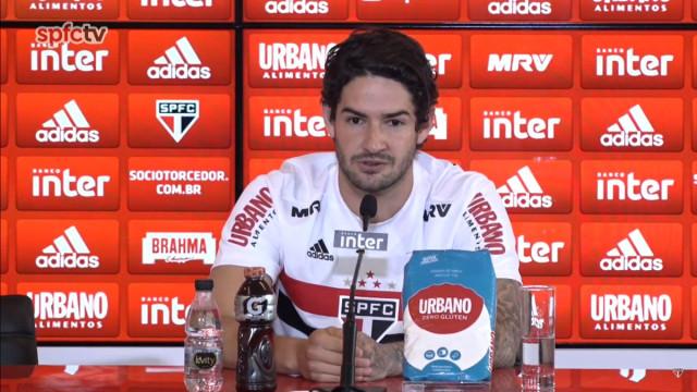 Atitude de Pato conquista elenco e comissão do São Paulo