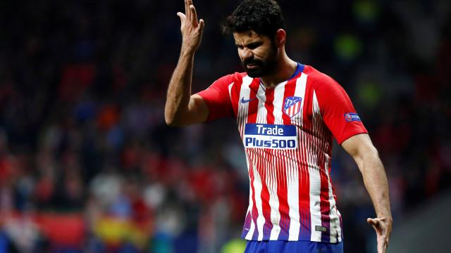 Diego Costa revela mágoa por ter sido 'ignorado' por Felipão