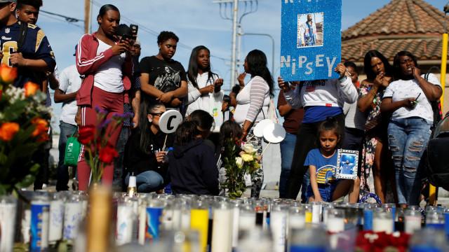 Polícia dos EUA já tem suspeito de matar rapper Nipsey Hussle