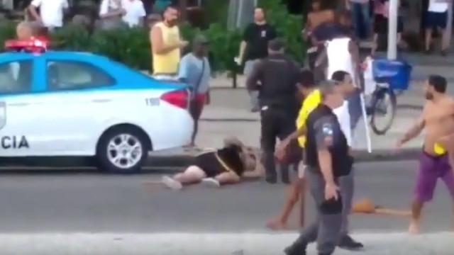 Torcedor ferido em briga no Rio continua em estado grave